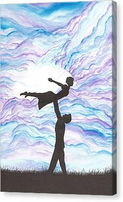 Love Takes Flight Canvas Print