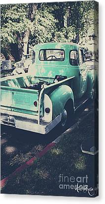 Love The Truck Canvas Print by Awildrose Photography