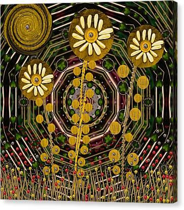 Seed Canvas Print - Love Under The Sun Pop Art by Pepita Selles