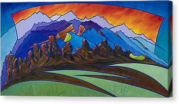 Loveland's Backbone Canvas Print