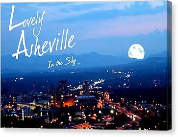 Lovely Asheville Canvas Print