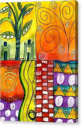 Low Threshold For Boredom Canvas Print by Angela L Walker