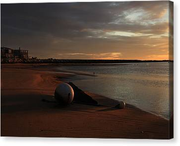Low Tide At Dawn  Canvas Print