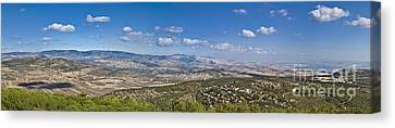 Lower Galilean Landscape Canvas Print