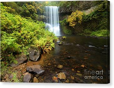 Lower South Falls Canvas Print by Adam Jewell