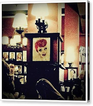 Lucille Ball Canvas Print by Natasha Marco