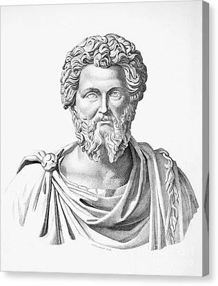 Lucius Septimius Severus Canvas Print by Granger