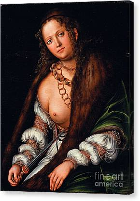 Lucretia  Canvas Print by Pg Reproductions