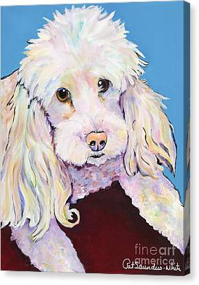 Lucy Canvas Print by Pat Saunders-White