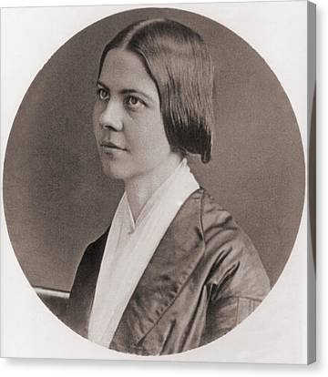 Lucy Stone, 1818-1893, American Canvas Print by Everett