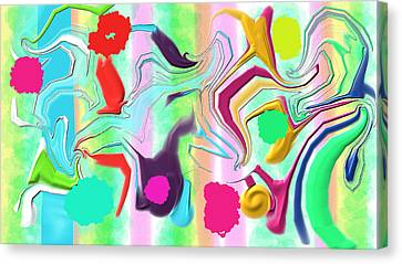Ludere Canvas Print by Rosana Ortiz