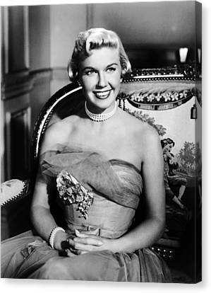 1951 Movies Canvas Print - Lullaby Of Broadway, Doris Day, 1951 by Everett