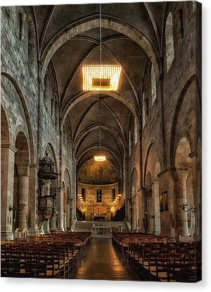 Lund Cathedral Canvas Print by Wade Aiken