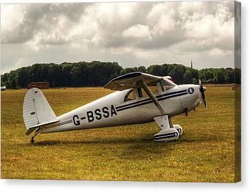 Luscombe 8e Deluxe 2 Seater Plane Canvas Print