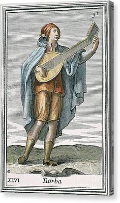 Lute, 1723 Canvas Print by Granger