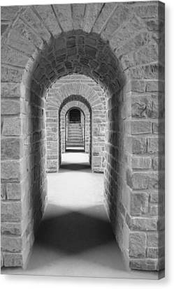 Luxembourg Passages Canvas Print