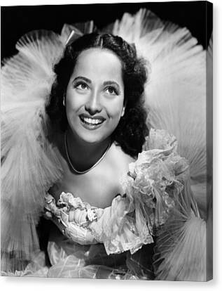 1941 Movies Canvas Print - Lydia, Merle Oberon, 1941 by Everett