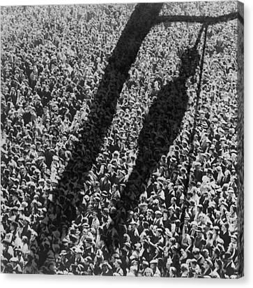 Lynching. The Shadow Of Lynching Canvas Print by Everett