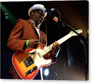 Lynval Golding-the Specials Canvas Print by Jeff Ross