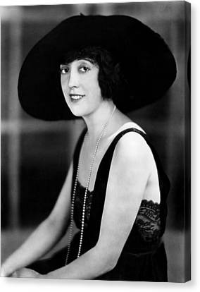 Mabel Normand, 1921 Canvas Print by Everett
