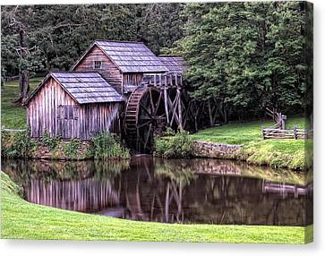 Mabry Mill Canvas Print by Wade Aiken