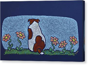 Mac A Boo Canvas Print by wendy CHO