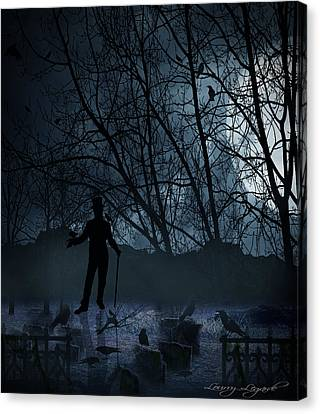 Macabre Canvas Print by Lourry Legarde