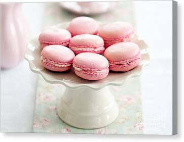 Macarons Canvas Print by Ruth Black