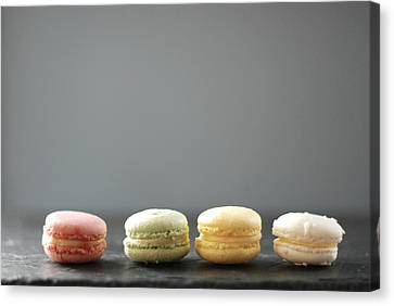 Macarons Canvas Print by Shawna Lemay
