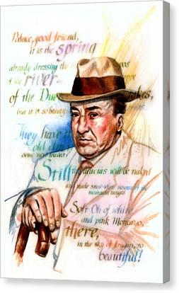 Machado Canvas Print by Ken Meyer jr