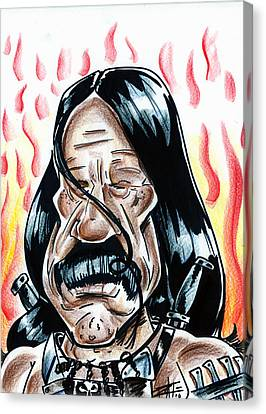 Machete Canvas Print by Big Mike Roate
