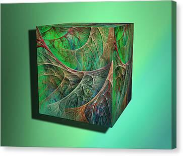 Machinetosh Root Canvas Print by Betsy Knapp
