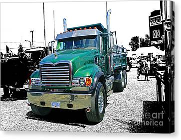 Mack Abstract Canvas Print by Randy Harris