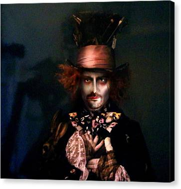 Mad Hatter Canvas Print - Mad Hatter by Alessandro Della Pietra