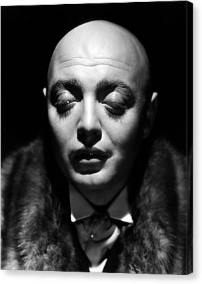 Mad Love, Peter Lorre, 1935 Canvas Print