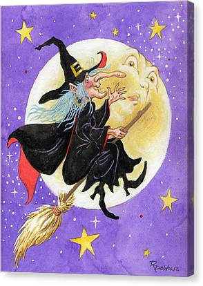 Mad Millie Canvas Print by Richard De Wolfe