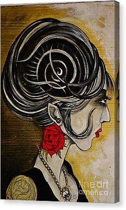 Madame D. Eternal's Dance Canvas Print