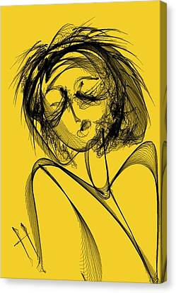 Madame Vicious Canvas Print by Hayrettin Karaerkek