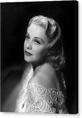 Madeleine Carroll, Paramount Pictures Canvas Print by Everett