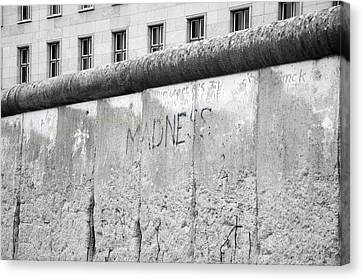 Madness In Berlin Canvas Print
