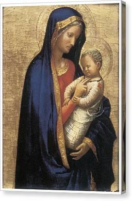 Madonna Casini Canvas Print by Tommaso Macassio