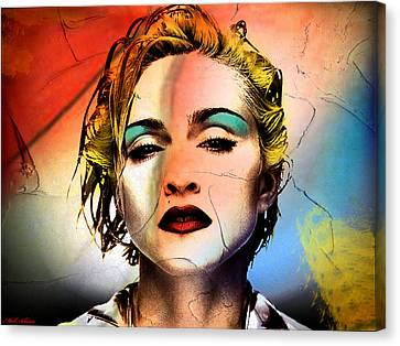 Madonna  Canvas Print by Mark Ashkenazi