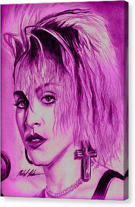 Madonna Canvas Print by Michael Mestas