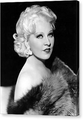 Mae West, 1936 Canvas Print by Everett