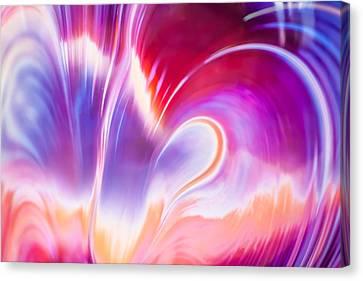 Magenta Wave Canvas Print by Adam Pender