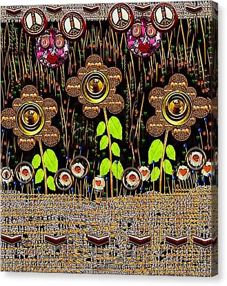 Magic Is Here To Stay Pop Art Canvas Print by Pepita Selles