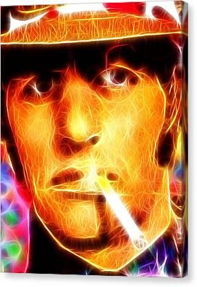 Magical Ringo Starr Canvas Print by Paul Van Scott