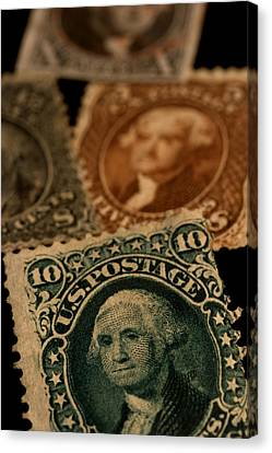 Magnification Of Classic 19th Century Canvas Print by Phil Schermeister