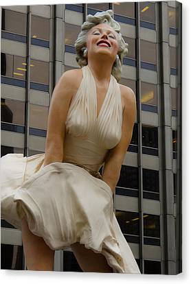 Magnificent Marilyn Canvas Print