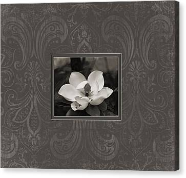 Magnolia Art Canvas Print by Mary Hershberger